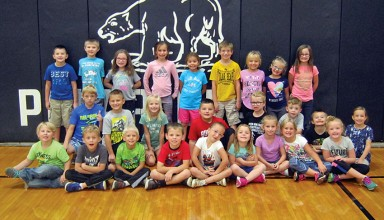 Hardin Northern Elementary Students of Month, grades K-3
