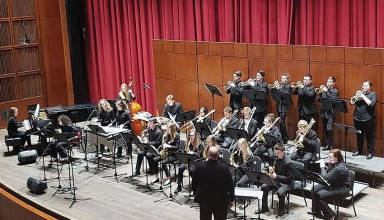 BL Jazz Band performs