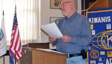 Ada Kiwanis President Joe Ferguson