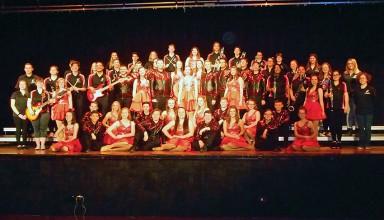 Kenton Top 20 singer/dancers, musical ensemble and crew