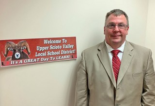 Craig Hurley, USV's interim superintendent
