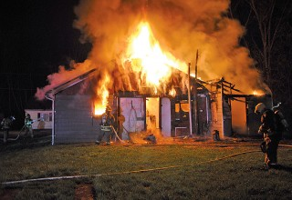Kenton home destroyed