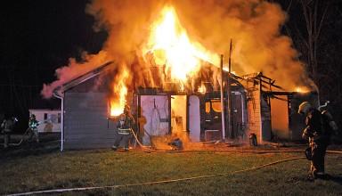 Kenton home destroyed