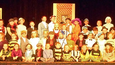 The cast of 'Mary Poppins Jr.' to be staged by Children's Summer Theatre Workshop