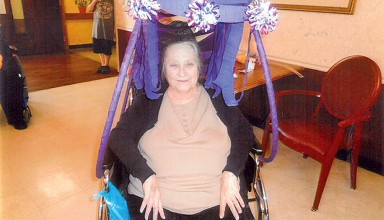 Wheelchair Beautification Month entree