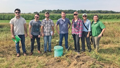 Brazil delegation visits Kurt farm