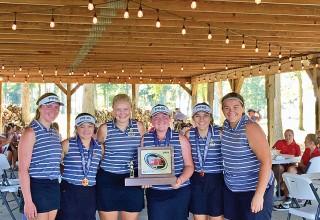 The 2019 Ben Logan girls golf team
